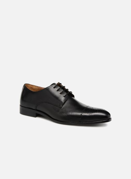 Lace-up shoes Marvin&co Nelton Black detailed view/ Pair view