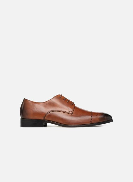 Lace-up shoes Marvin&co Nelton Brown back view