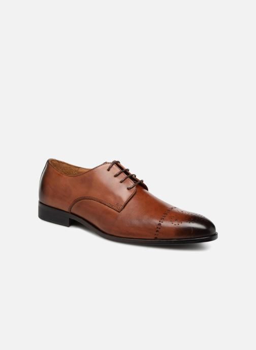 Lace-up shoes Marvin&co Nelton Brown detailed view/ Pair view