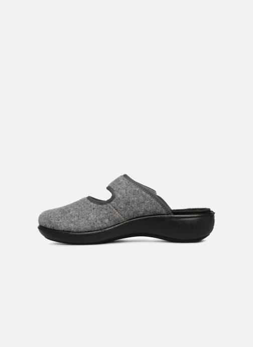 Chaussons Romika Ibiza Home 337 Gris vue face