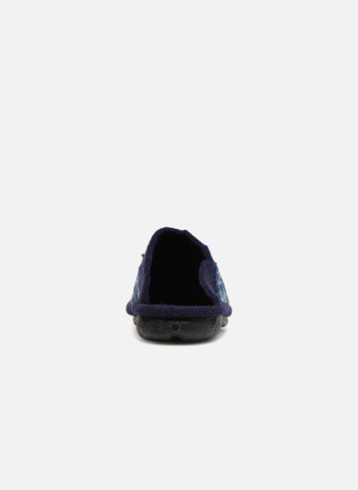 Hausschuhe Romika Mikado 100 blau ansicht von rechts