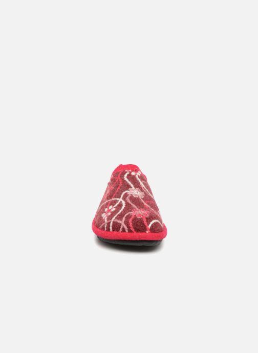 Chaussons Romika Mikado 100 Rouge vue portées chaussures