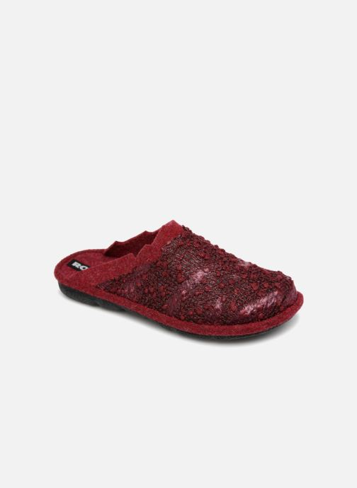 Slippers Romika Mikado 103 Red detailed view/ Pair view