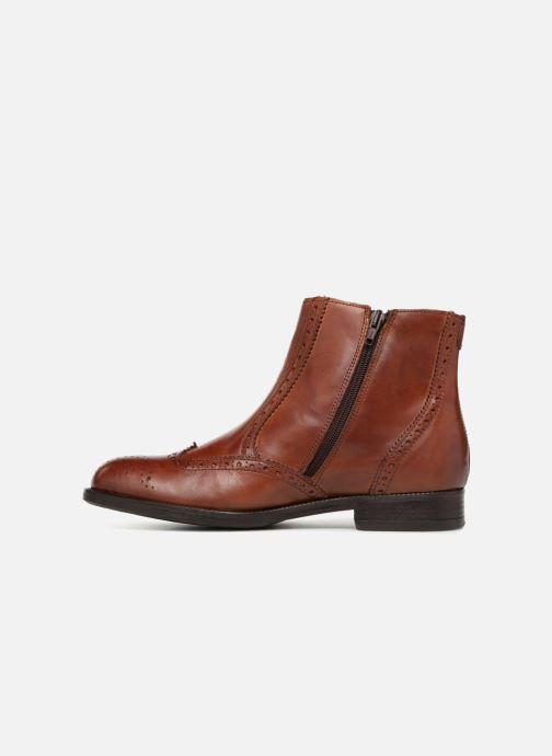 Bottines et boots Marvin&Co Nolwich Marron vue face