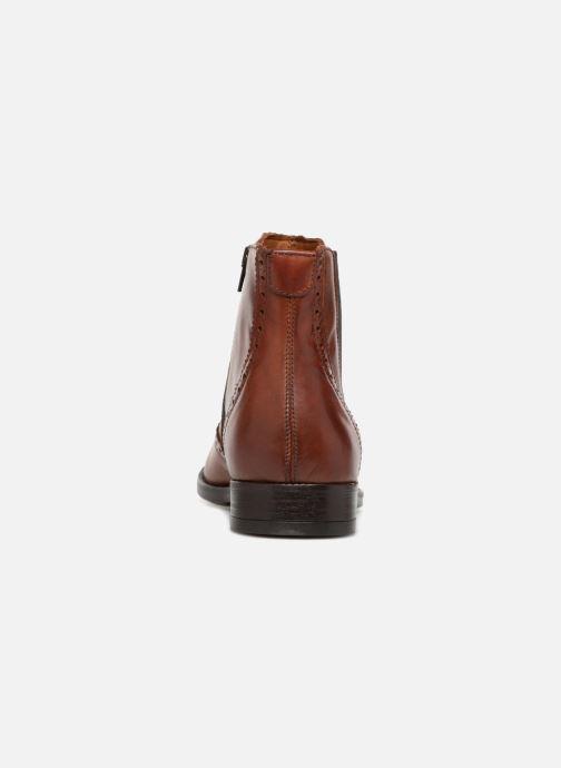Bottines et boots Marvin&Co Nolwich Marron vue droite