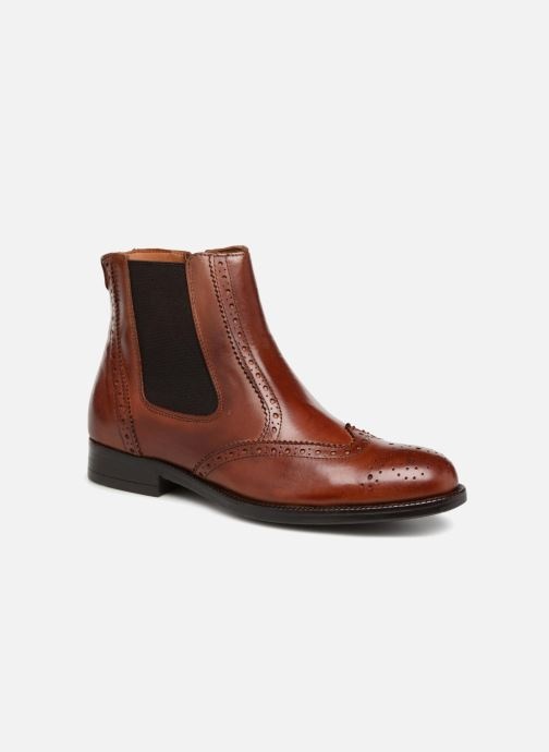 Boots en enkellaarsjes Marvin&Co Nolwich Bruin detail