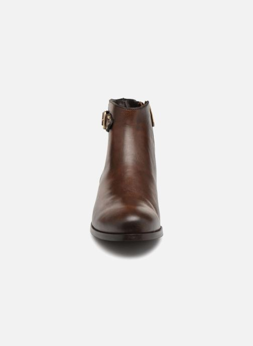 Georgia Rose Sowesta Boots Marron Bottines Et H29DEI