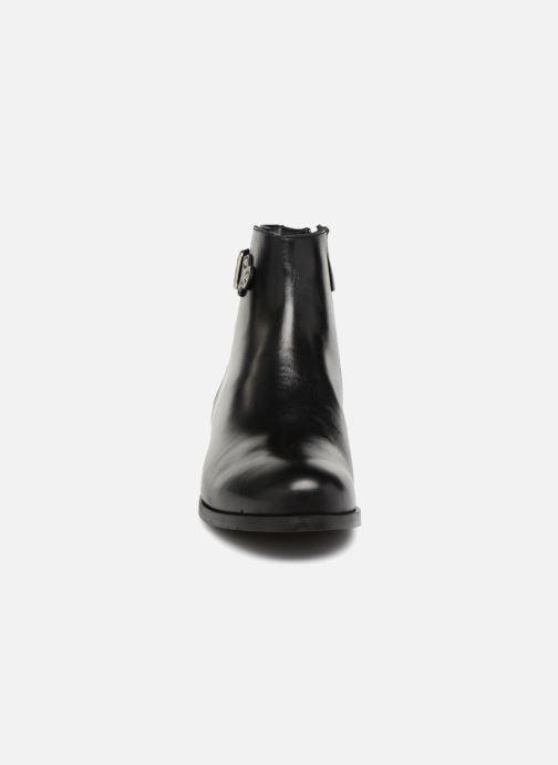 Bottines et boots Georgia Rose Sowesta Noir vue portées chaussures