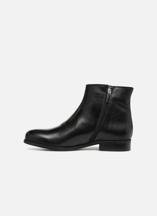 Bottines et boots Georgia Rose Sowesta Noir vue face