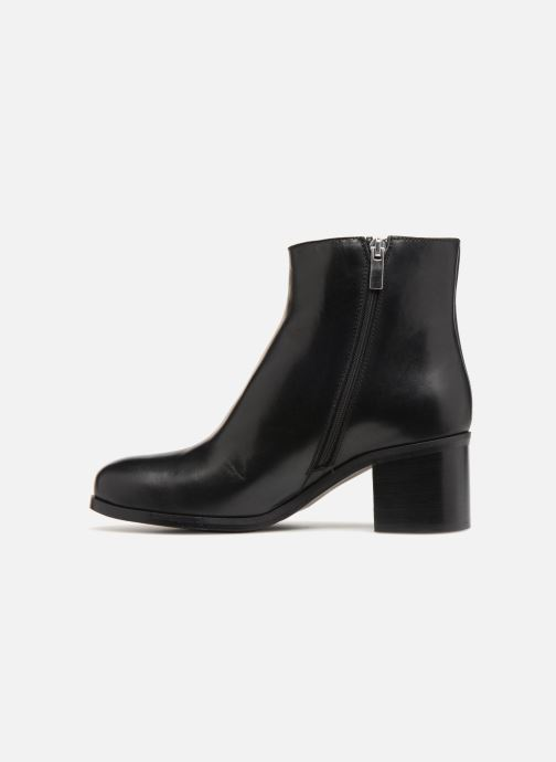 Bottines et boots Georgia Rose Swayno Noir vue face