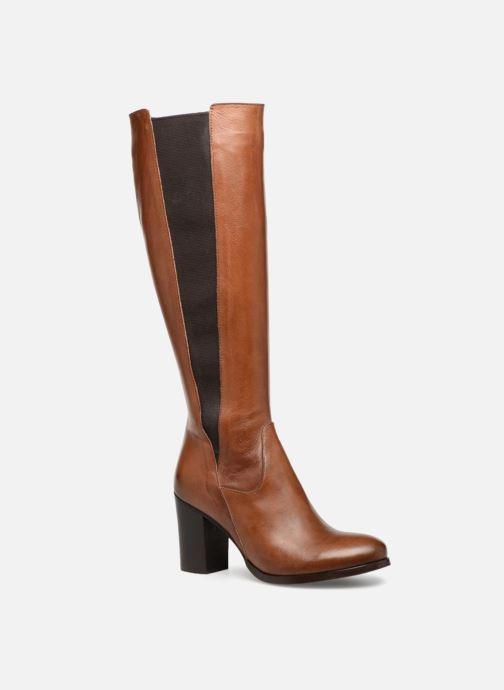 Boots & wellies Georgia Rose Lolitia Brown detailed view/ Pair view