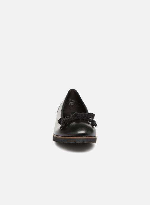 Ballerines Gabor Esterie Noir vue portées chaussures