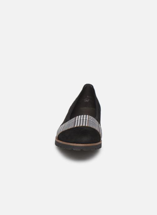 Ballerines Gabor Eveline Noir vue portées chaussures