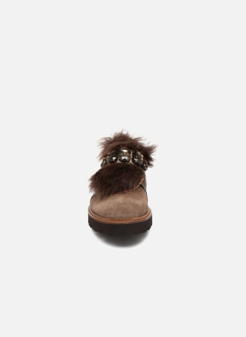 Mocassins Gabor Pirita Marron vue portées chaussures