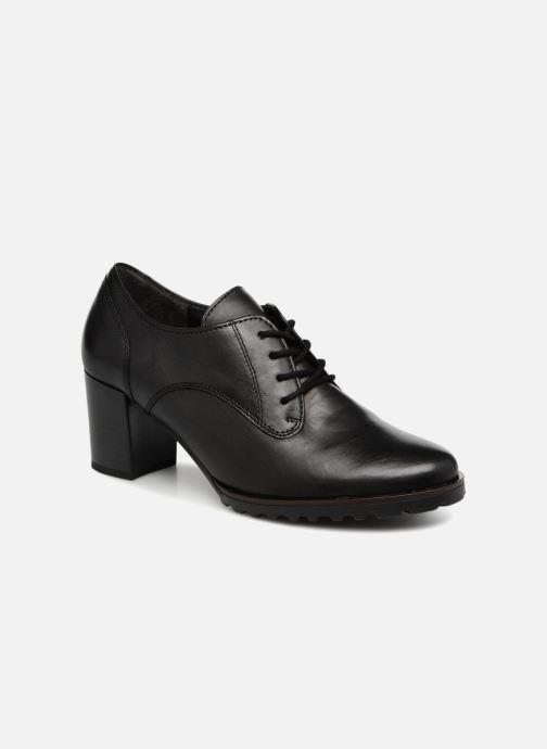 Chaussures à lacets Gabor Ritta Noir vue détail/paire