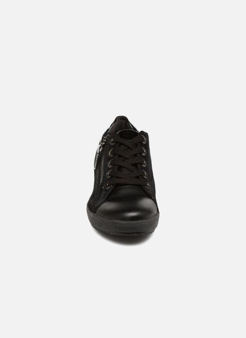 Baskets Gabor Sisko Noir vue portées chaussures