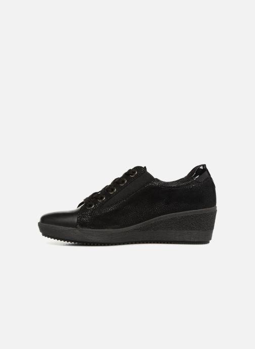 Sneaker Gabor Sisko schwarz ansicht von vorne