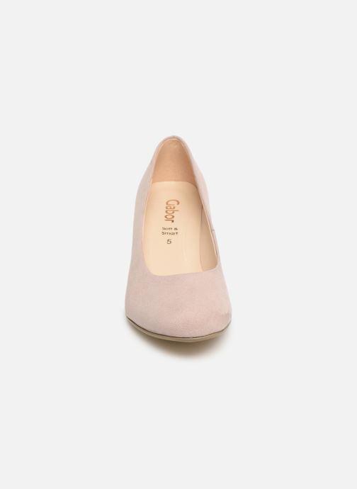 Escarpins Gabor Tanja Rose vue portées chaussures