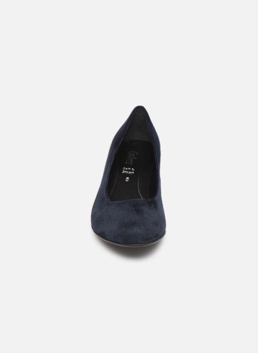 Escarpins Gabor Tanja Bleu vue portées chaussures