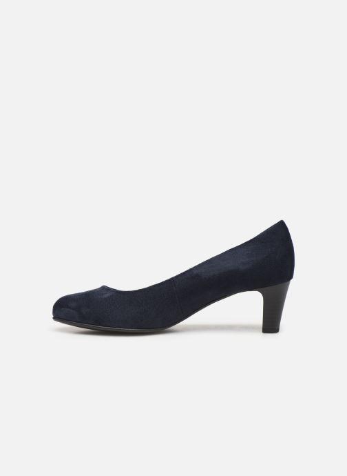 Zapatos de tacón Gabor Tanja Azul vista de frente