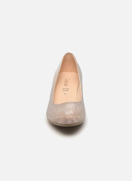 Zapatos de tacón Gabor Tanja Beige vista del modelo