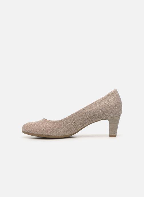 Zapatos de tacón Gabor Tanja Beige vista de frente