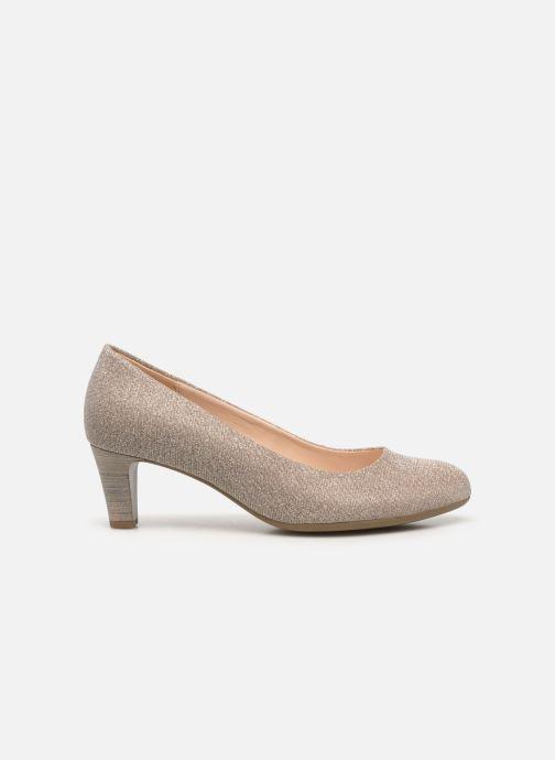 Zapatos de tacón Gabor Tanja Beige vistra trasera