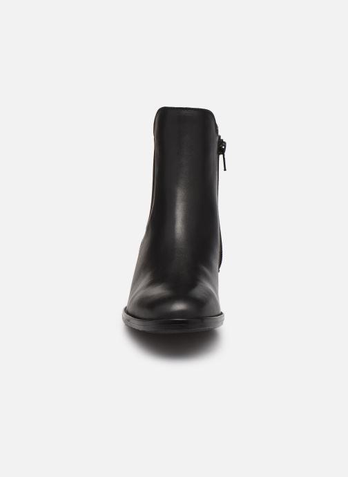 Bottines et boots Gabor Léa Marron vue portées chaussures