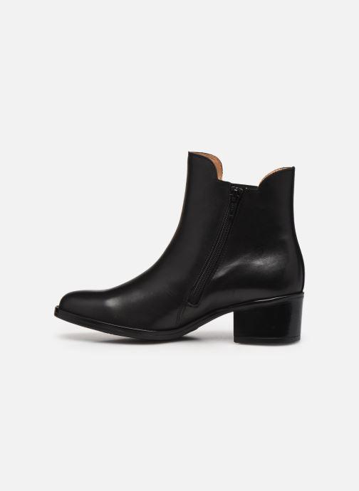 Bottines et boots Gabor Léa Marron vue face