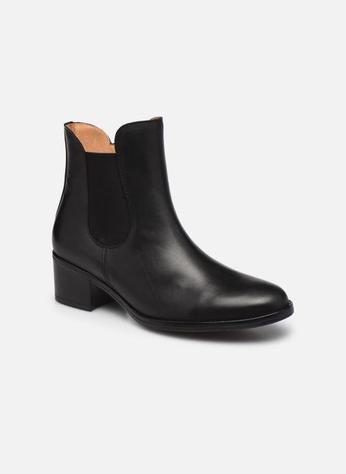 Bottines et boots Gabor Léa Marron vue détail/paire