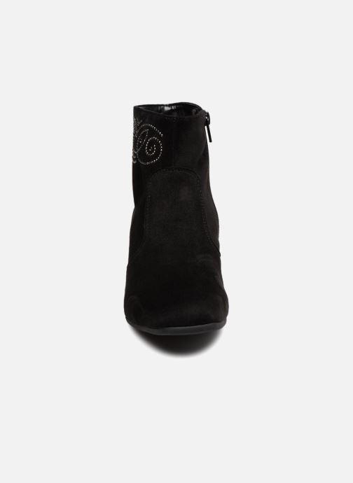 Bottines et boots Gabor Morgane Noir vue portées chaussures