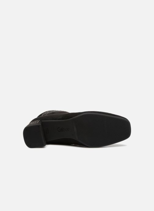 Bottines et boots Gabor Morgane Noir vue haut