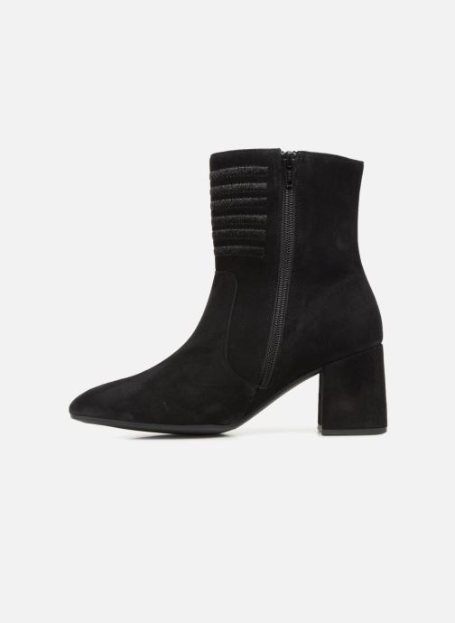 Bottines et boots Gabor Juliette Noir vue face