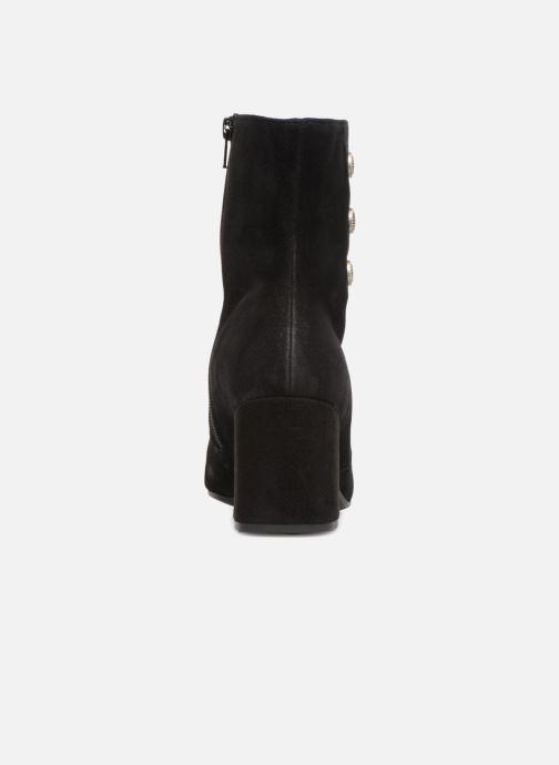 Bottines et boots Gabor Juliette Noir vue droite