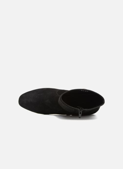 Bottines et boots Gabor Juliette Noir vue gauche