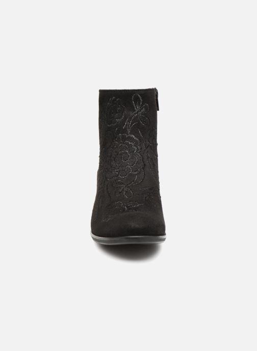 Bottines et boots Gabor Judith Noir vue portées chaussures