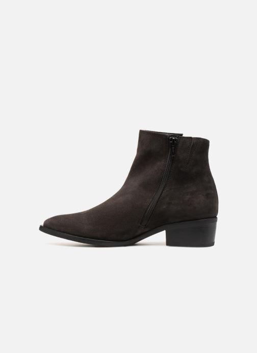 Bottines et boots Gabor Luna Gris vue face