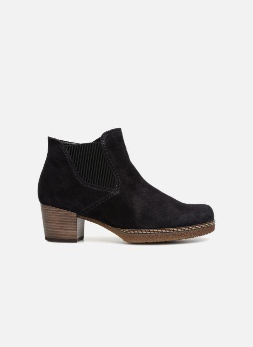 Bottines et boots Gabor Margueritte Bleu vue derrière