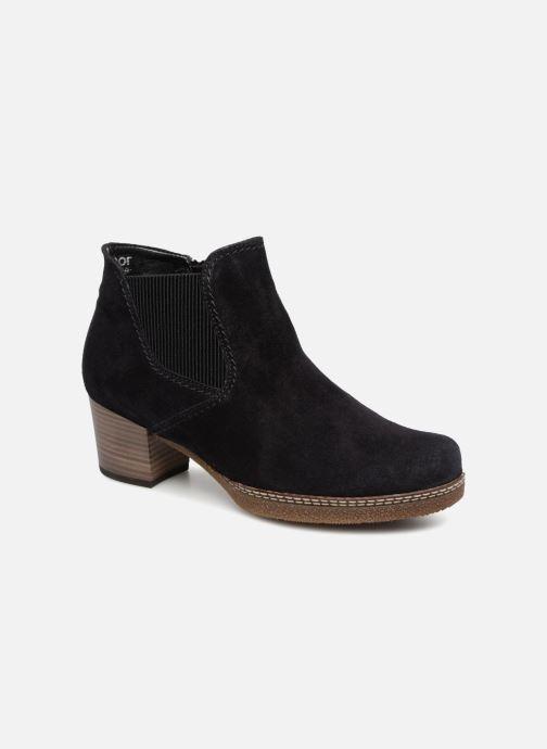 Bottines et boots Gabor Margueritte Bleu vue détail/paire