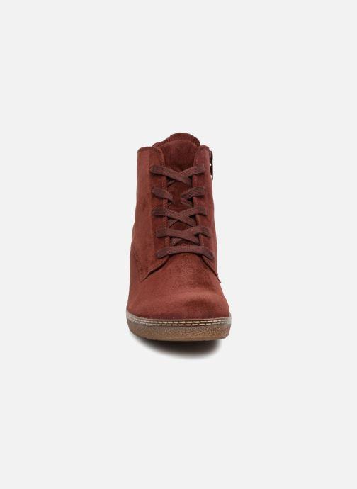 Bottines et boots Gabor Odile Rouge vue portées chaussures