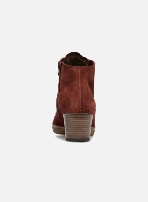 Bottines et boots Gabor Odile Rouge vue droite