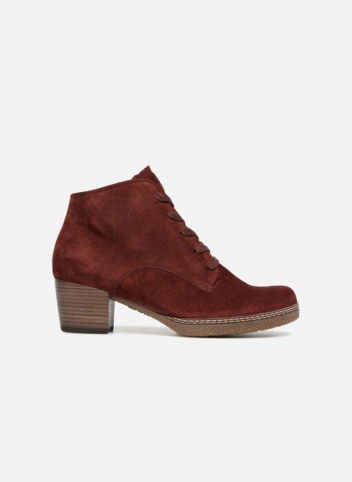 Bottines et boots Gabor Odile Rouge vue derrière