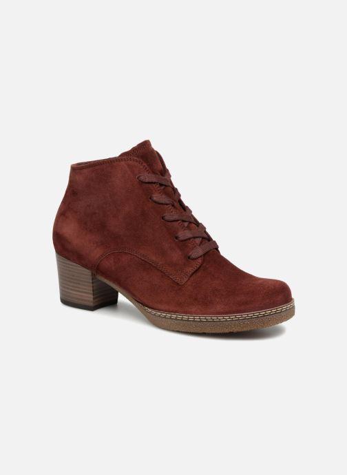 Bottines et boots Gabor Odile Rouge vue détail/paire