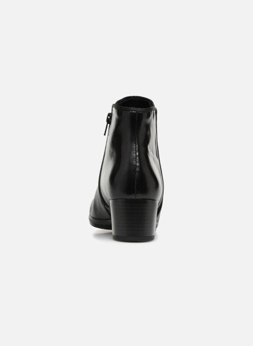 Bottines et boots Gabor Estelle Noir vue droite