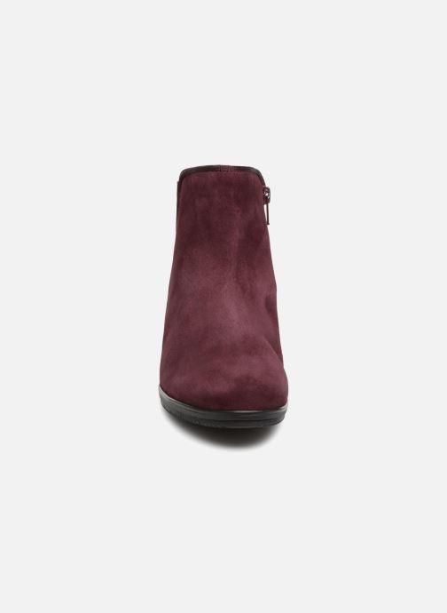 Bottines et boots Gabor Estelle Bordeaux vue portées chaussures