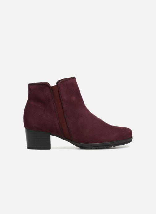Bottines et boots Gabor Estelle Bordeaux vue derrière