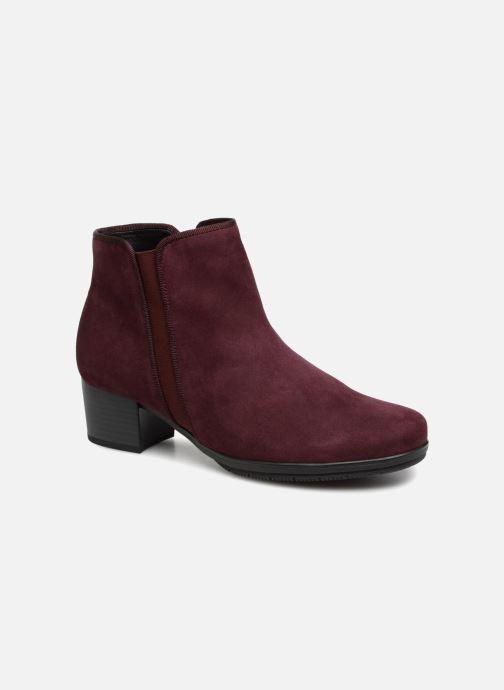 Bottines et boots Gabor Estelle Bordeaux vue détail/paire