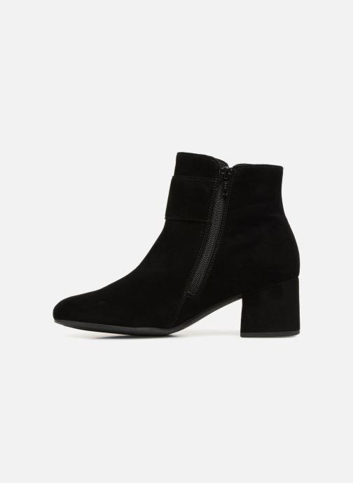 Bottines et boots Gabor Colette Noir vue face