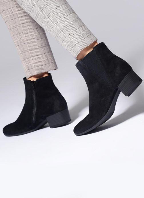 Bottines et boots Gabor Virginie Bleu vue bas / vue portée sac
