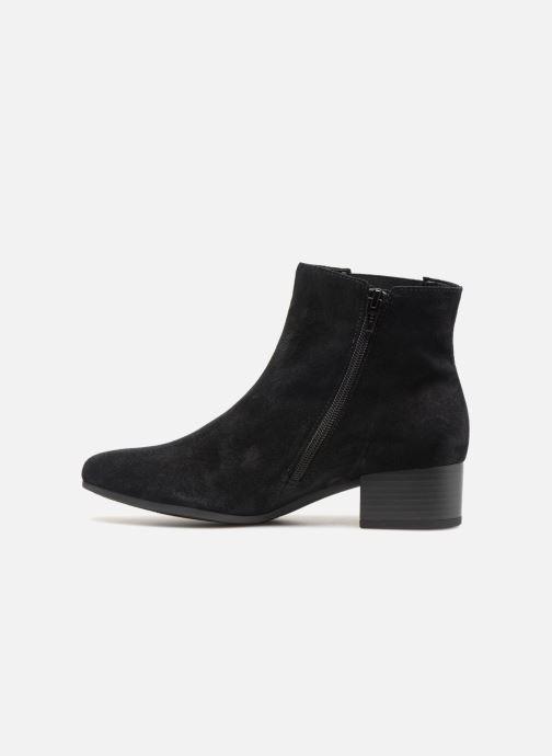 Bottines et boots Gabor Virginie Bleu vue face